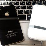 iphone4とソフトバンク202shのガラケー
